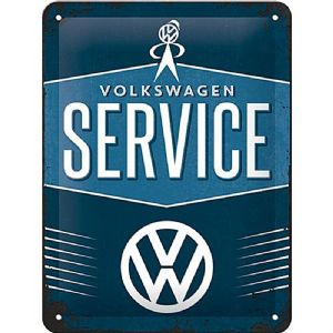 Volkswagen Service metal sign (na 2015)